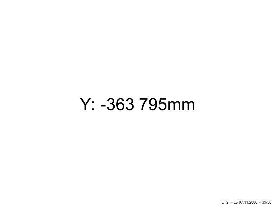 Y: -363 795mm D.G. – Le 07.11.2006 – 39/56