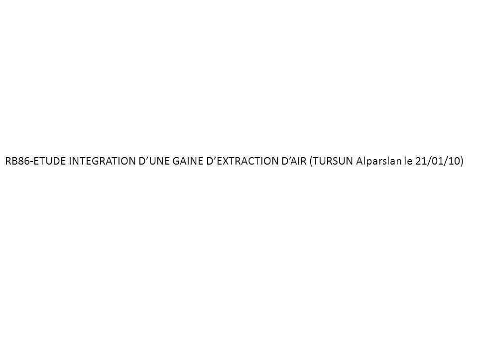 RB86-ETUDE INTEGRATION DUNE GAINE DEXTRACTION DAIR (TURSUN Alparslan le 21/01/10)