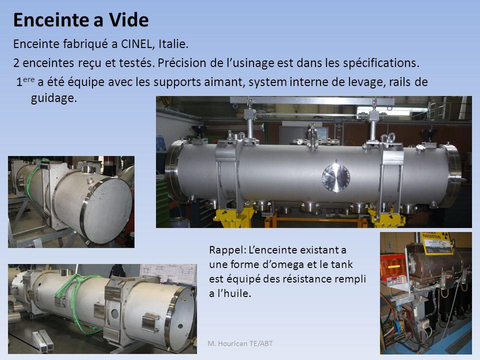 Enceinte a Vide Enceinte fabriqué a CINEL, Italie.