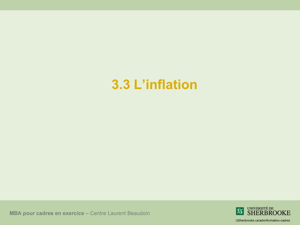 3.3 Linflation