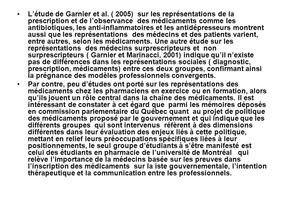 Létude de Garnier et al.