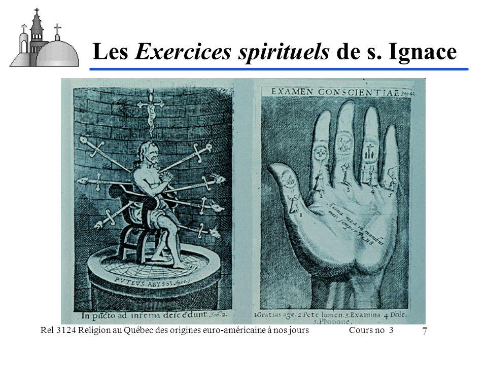 Rel 3124 Religion au Québec des origines euro-américaine à nos joursCours no 3 8 Les influences marquantes