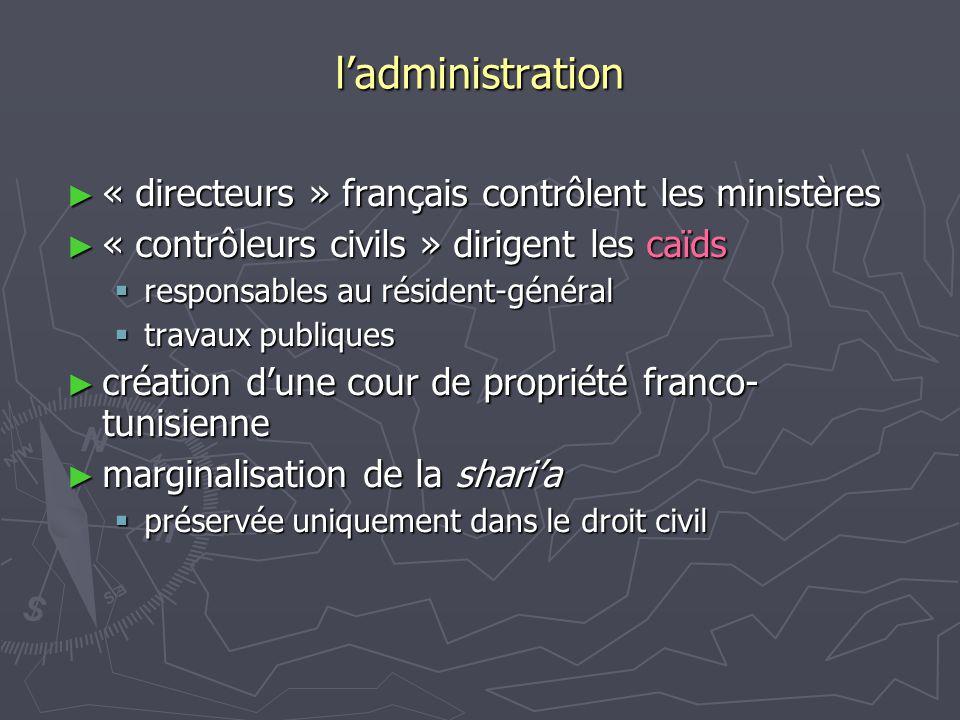 ladministration « directeurs » français contrôlent les ministères « directeurs » français contrôlent les ministères « contrôleurs civils » dirigent le