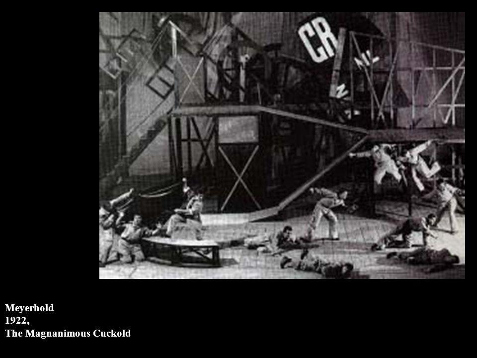 Meyerhold 1922, The Magnanimous Cuckold