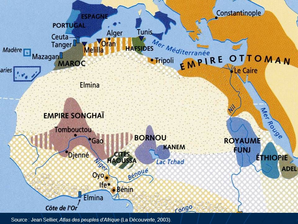 Source : Jean Sellier, Atlas des peuples dAfrique (La Découverte, 2003).
