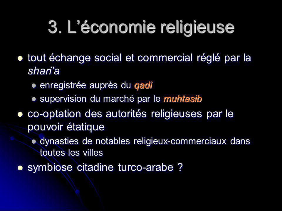 3. Léconomie religieuse tout échange social et commercial réglé par la sharia tout échange social et commercial réglé par la sharia enregistrée auprès