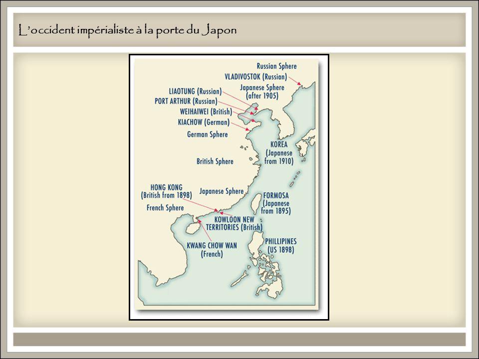 Loccident impérialiste à la porte du Japon