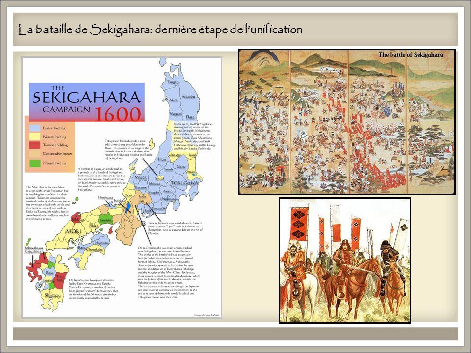 La bataille de Sekigahara: dernière étape de lunification