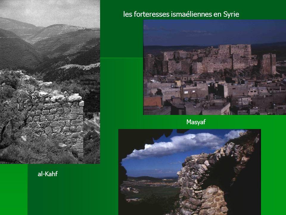 al-Kahf Masyaf les forteresses ismaéliennes en Syrie