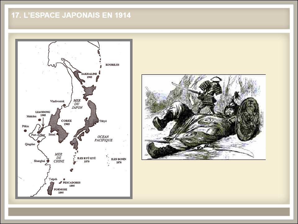 17. LESPACE JAPONAIS EN 1914