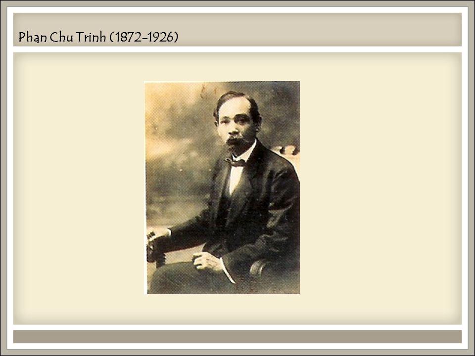 Phan Chu Trinh (1872-1926)