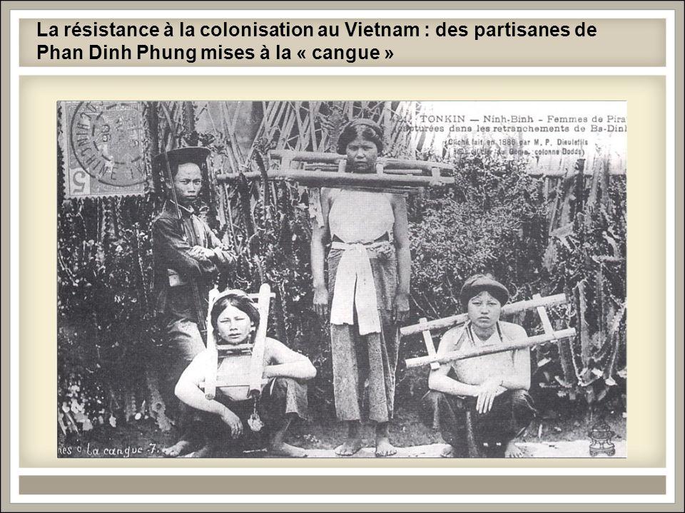 La résistance à la colonisation au Vietnam : des partisanes de Phan Dinh Phung mises à la « cangue »