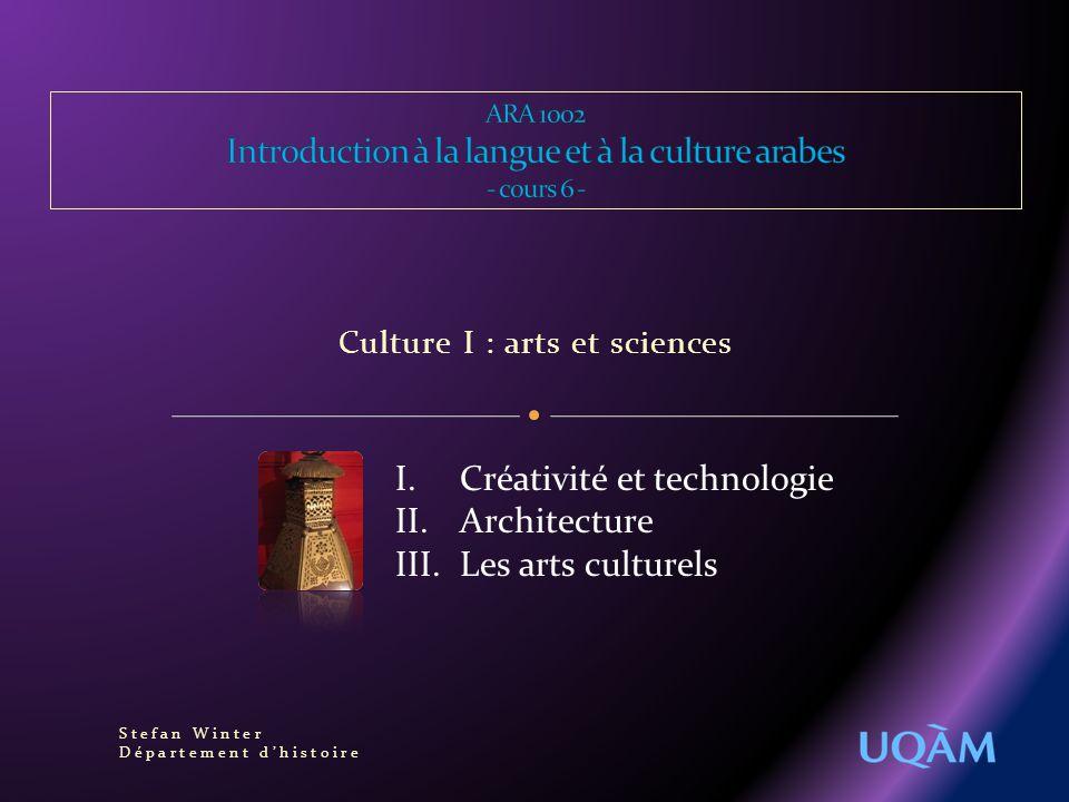 1.Problèmes et définitions Que sont les sciences « arabes » .