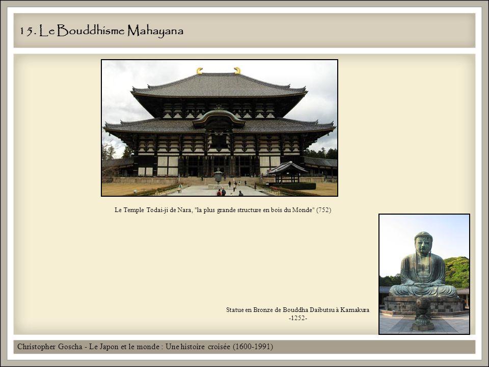15. Le Bouddhisme Mahayana Christopher Goscha - Le Japon et le monde : Une histoire croisée (1600-1991) Statue en Bronze de Bouddha Daibutsu à Kamakur
