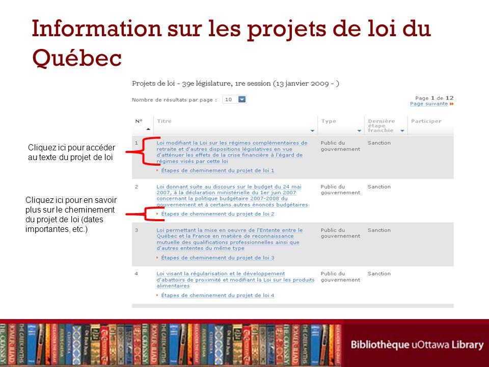 Comment citer les règlements du Québec (McGill – 2.1.1 et 2.1.6) Les règlements refondus Les règlements non refondus Titre (sil y en a),R.R.Q.
