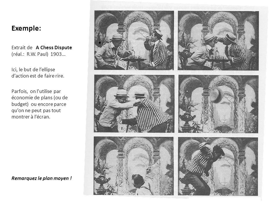 Le jeu avec le hors-champ Ellipse dun personnage Ellipse daction Ellipse du spectateur Ellipse de lieu Échelle de plan Utilisation de longue focale Éclairage (jeu ombre-lumière Durée du plan