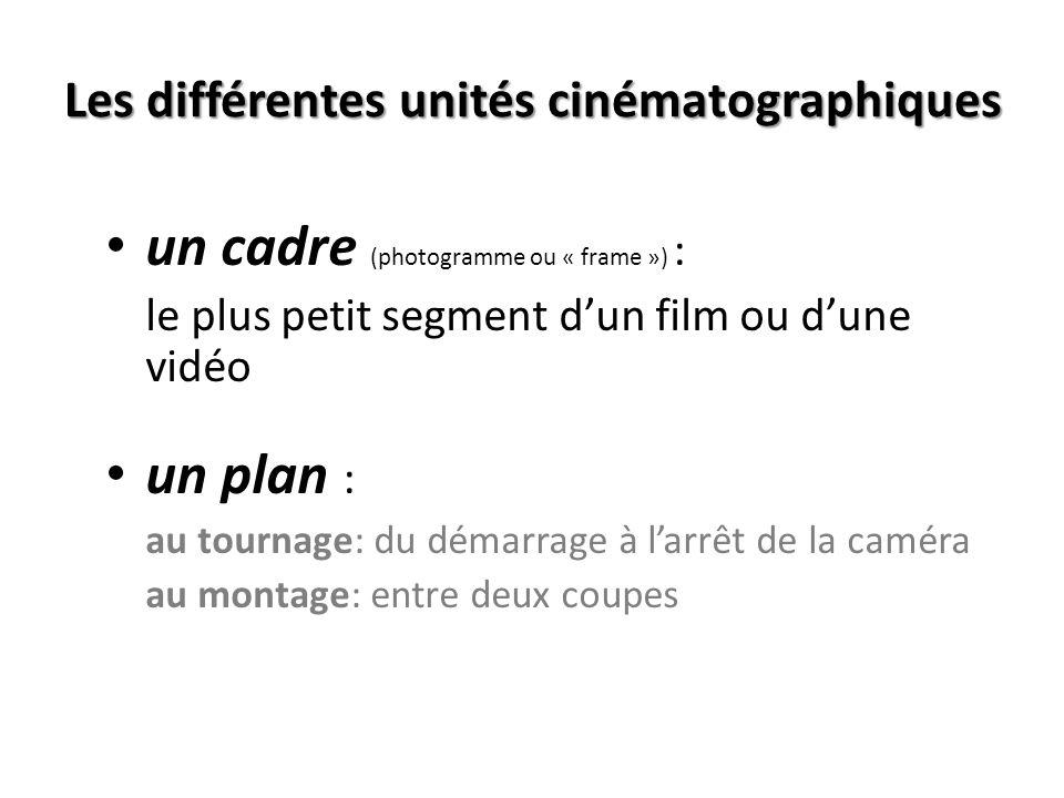 LA SEGMENTATION Outil pour comprendre la structure dun film ou dun programme