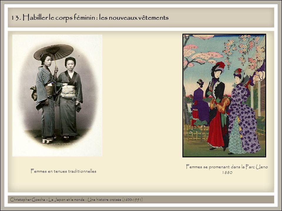 13. Habiller le corps féminin : les nouveaux vêtements Christopher Goscha - Le Japon et le monde : Une histoire croisée (1600-1991) Femmes se promenan
