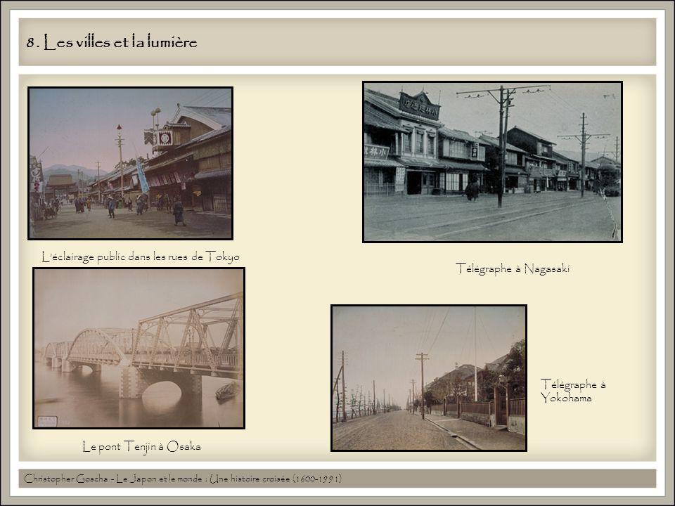 8. Les villes et la lumière Christopher Goscha - Le Japon et le monde : Une histoire croisée (1600-1991) Léclairage public dans les rues de Tokyo Télé