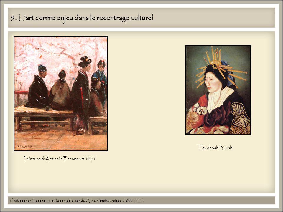 9. Lart comme enjeu dans le recentrage culturel Christopher Goscha - Le Japon et le monde : Une histoire croisée (1600-1991) Peinture dAntonio Fonanes