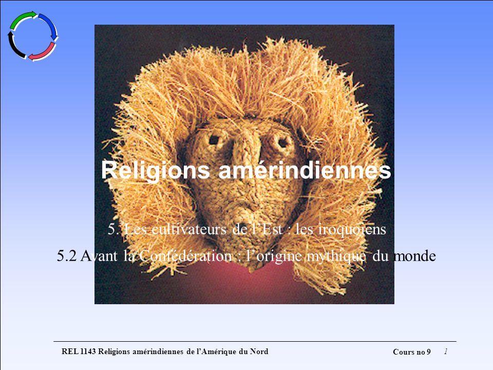 REL 1143 Religions amérindiennes de lAmérique du Nord1 Cours no 9 5.