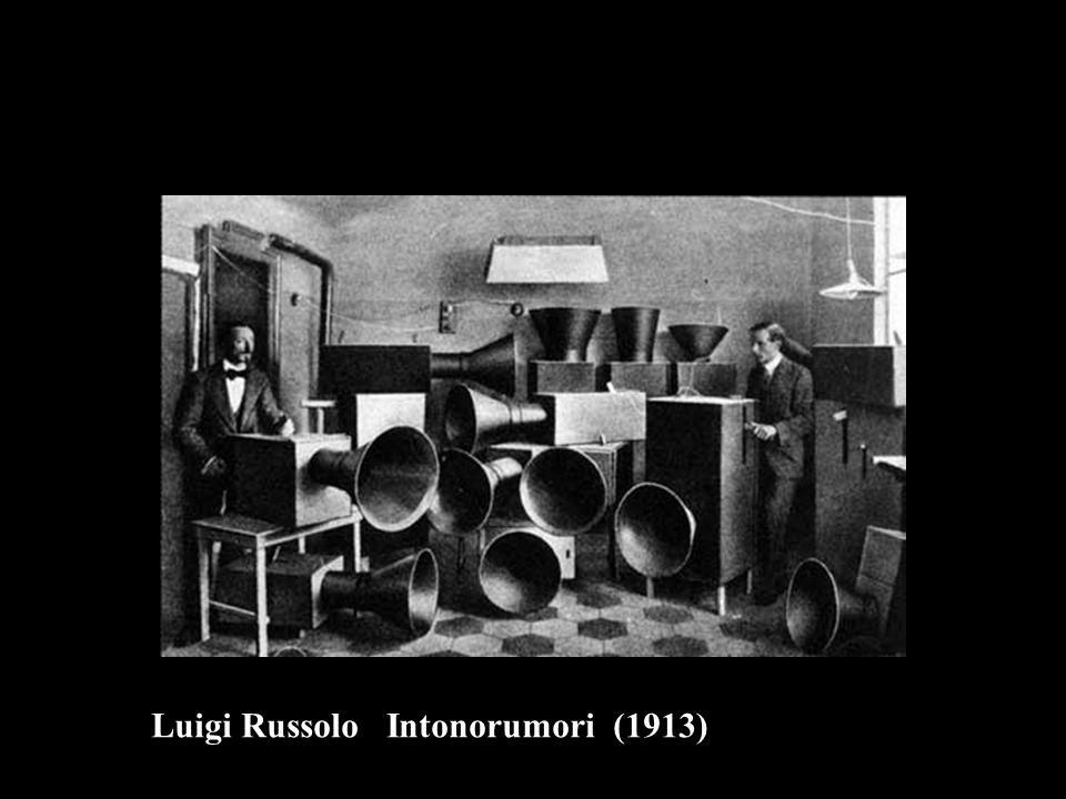 Luigi Russolo Intonorumori (1913)