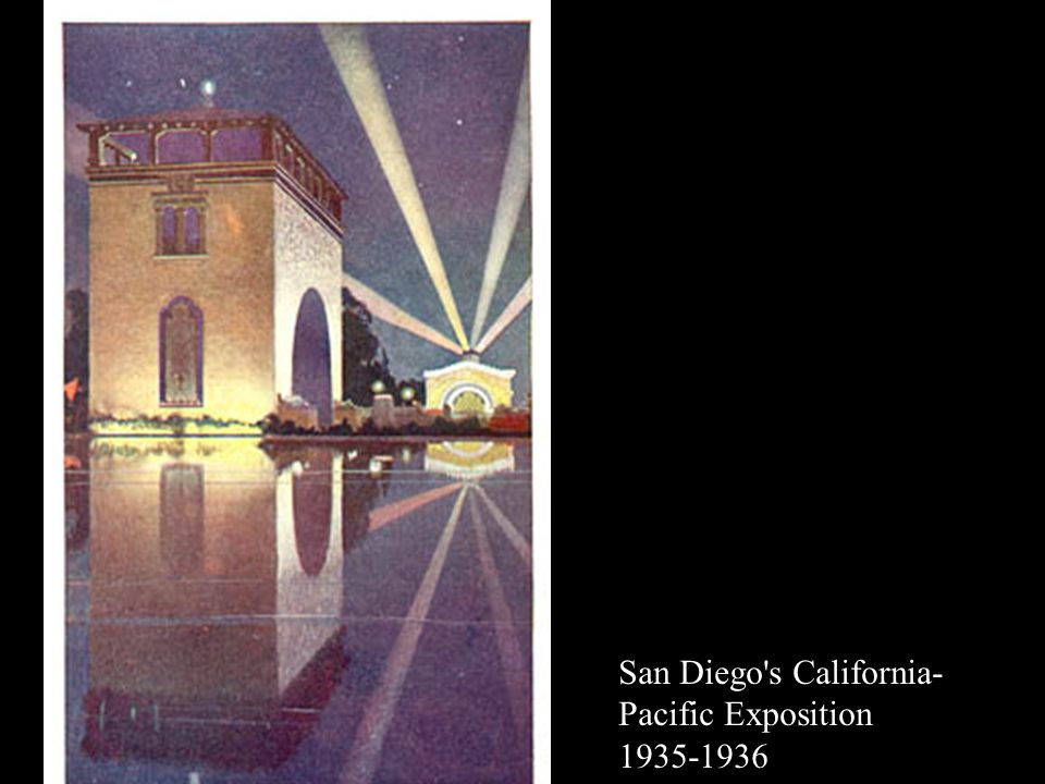 San Diego s California- Pacific Exposition 1935-1936