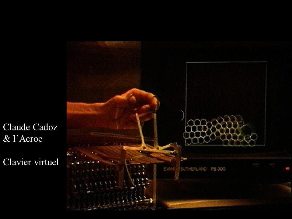 Claude Cadoz & lAcroe Clavier virtuel