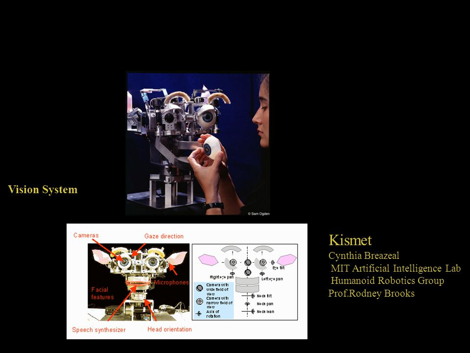 Vision System Kismet Cynthia Breazeal MIT Artificial Intelligence Lab Humanoid Robotics Group Prof.Rodney Brooks