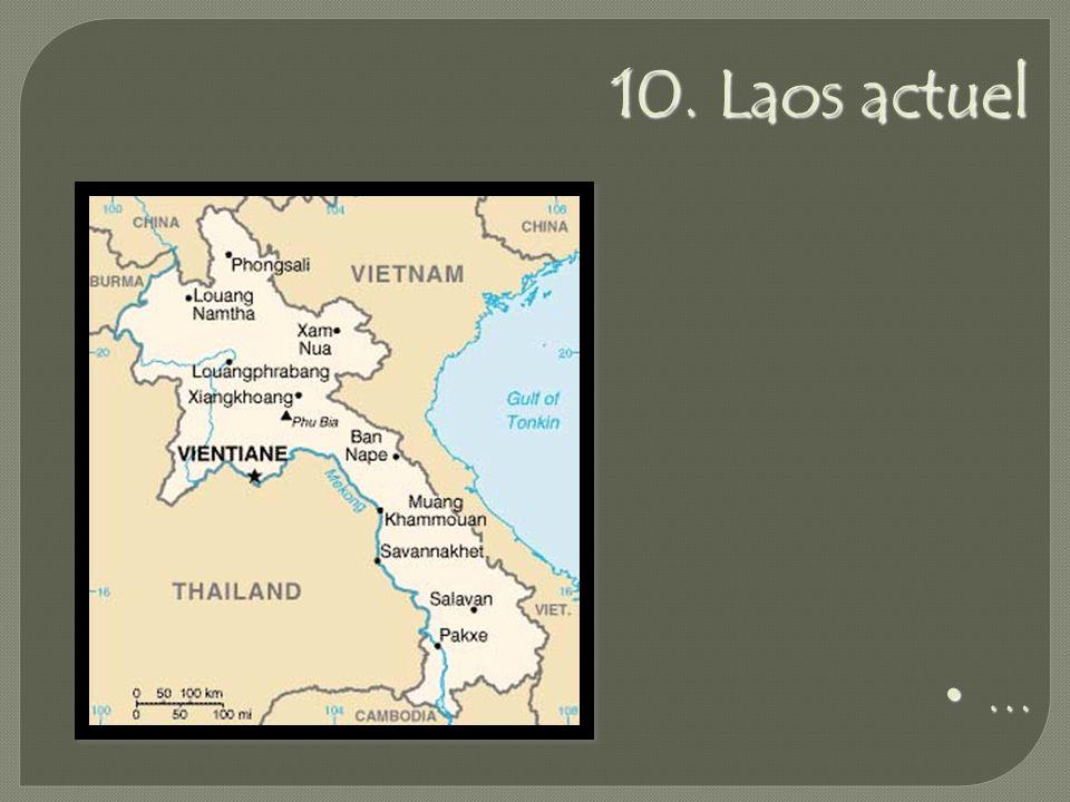 10. Laos actuel …