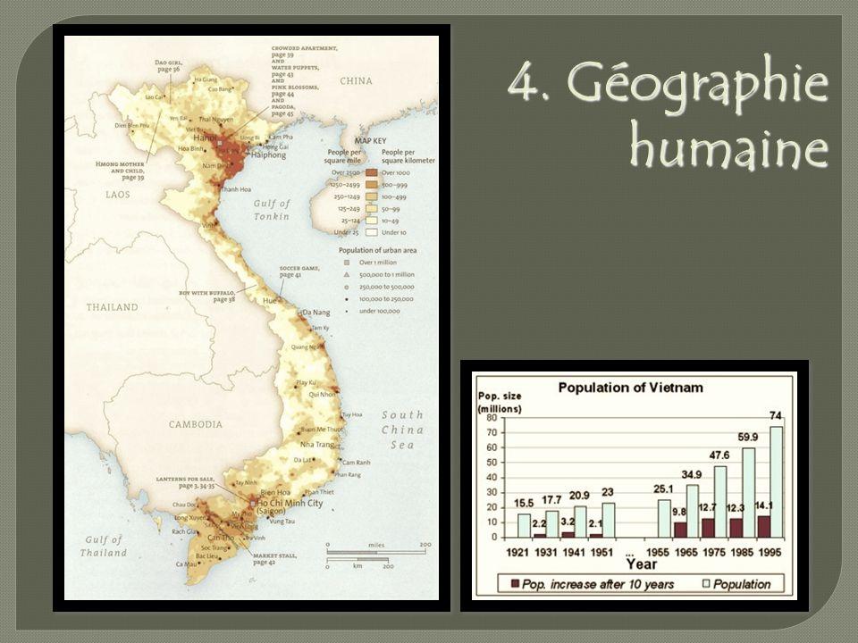 4. Géographie humaine