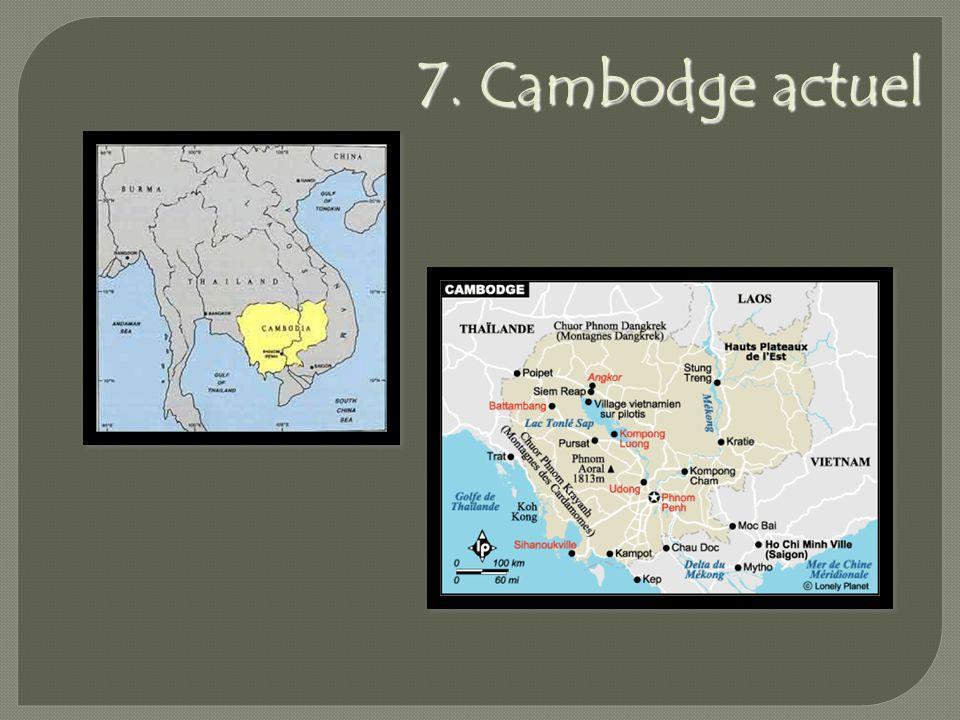 7. Cambodge actuel