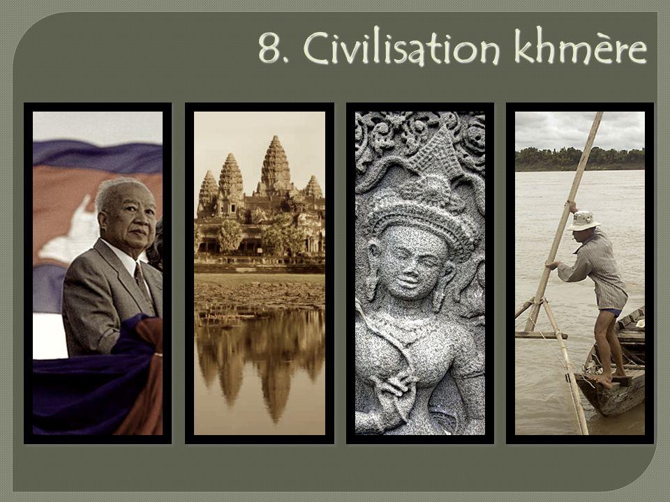 8. Civilisation khmère