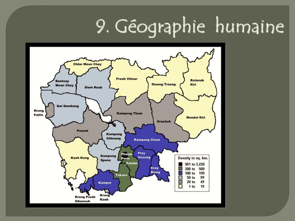 9. Géographie humaine