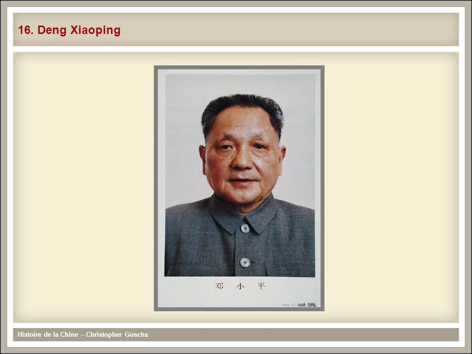 Histoire de la Chine – Christopher Goscha 16. Deng Xiaoping