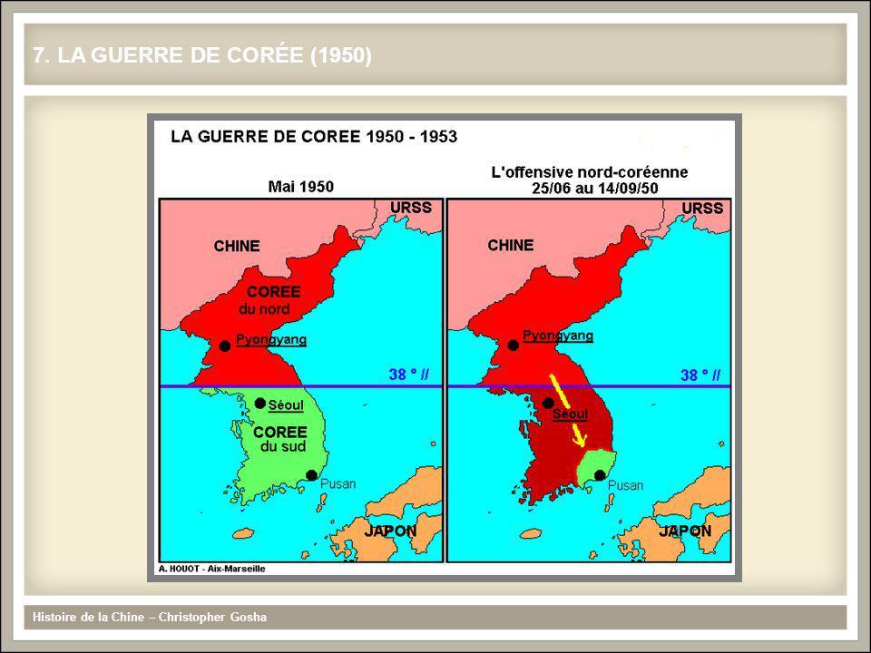 Histoire de la Chine – Christopher Gosha 8. LA GUERRE DE CORÉE (1950-1953)