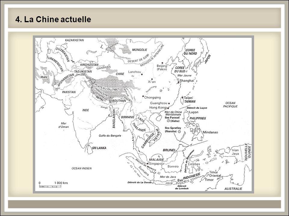 4. La Chine actuelle