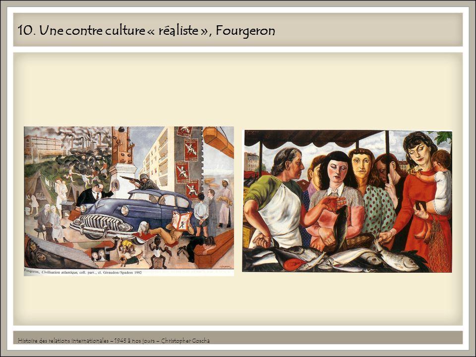 10. Une contre culture « réaliste », Fourgeron Histoire des relations internationales – 1945 à nos jours – Christopher Goscha