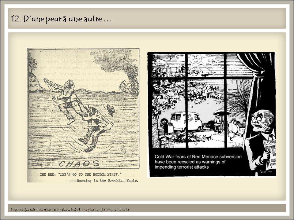 12. Dune peur à une autre … Histoire des relations internationales – 1945 à nos jours – Christopher Goscha