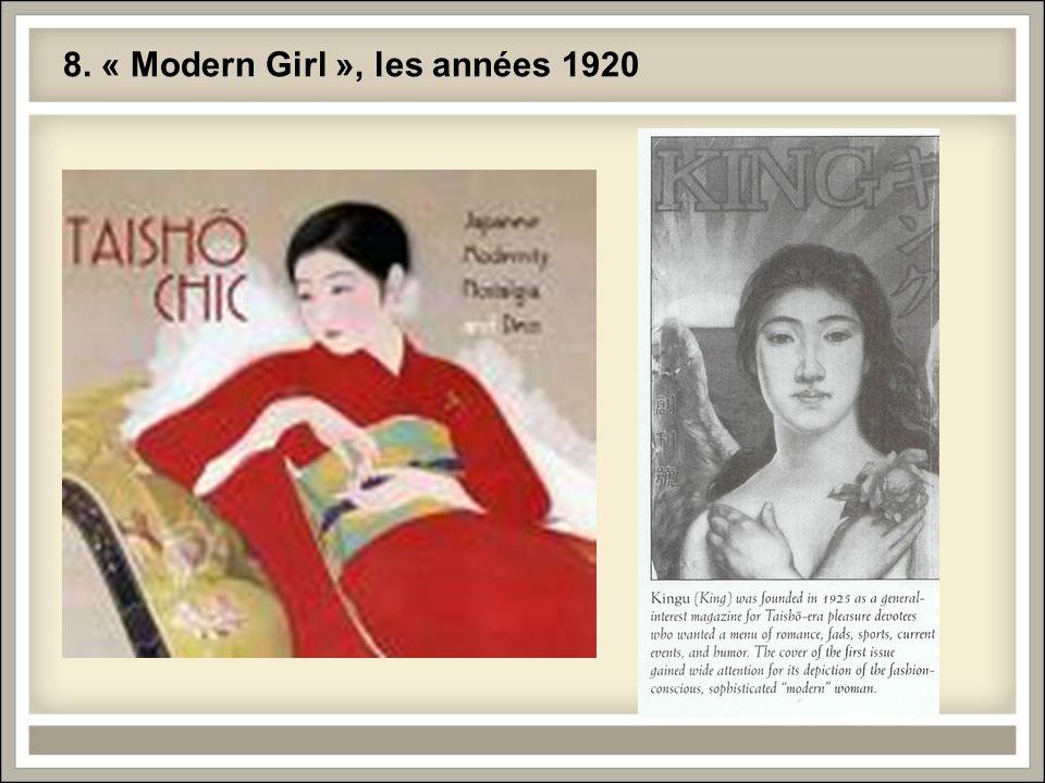 8. « Modern Girl », les années 1920