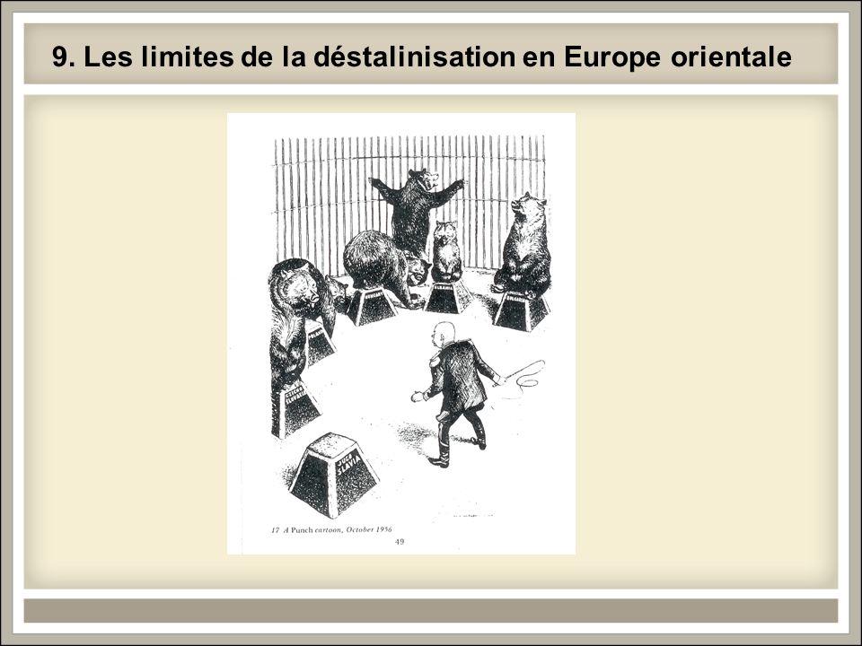 9. Les limites de la déstalinisation en Europe orientale