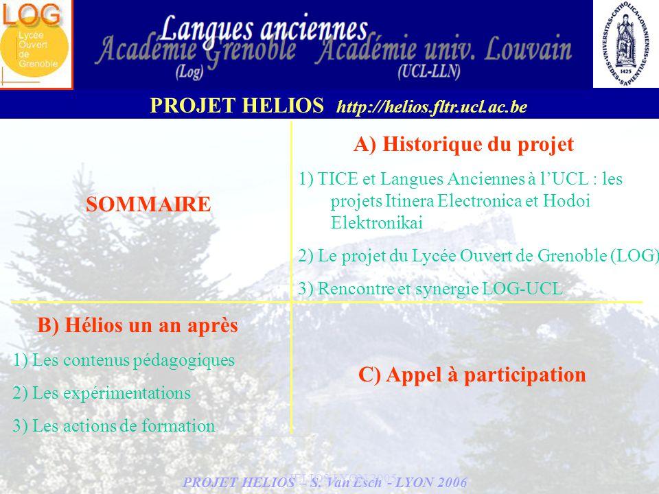 PROJET HELIOS – S.