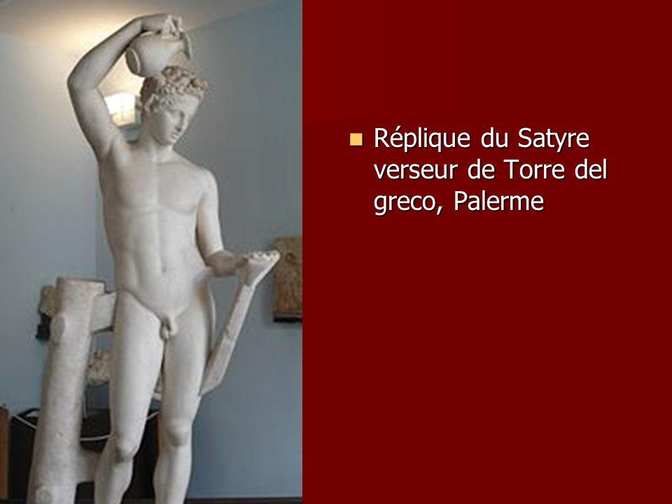 Réplique du Satyre verseur de Torre del greco, Palerme Réplique du Satyre verseur de Torre del greco, Palerme