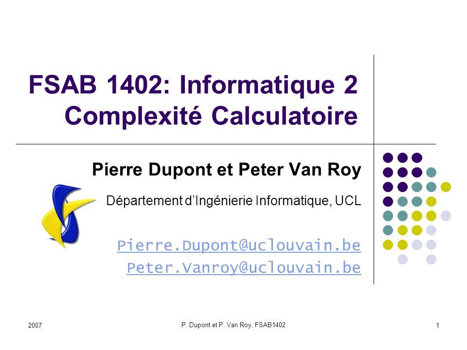 2007 P.Dupont et P.