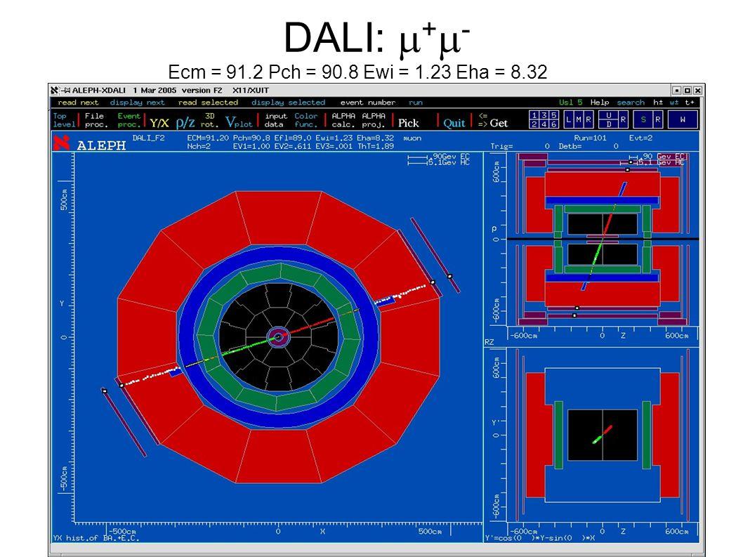 DALI: + - Ecm = 91.2 Pch = 90.8 Ewi = 1.23 Eha = 8.32