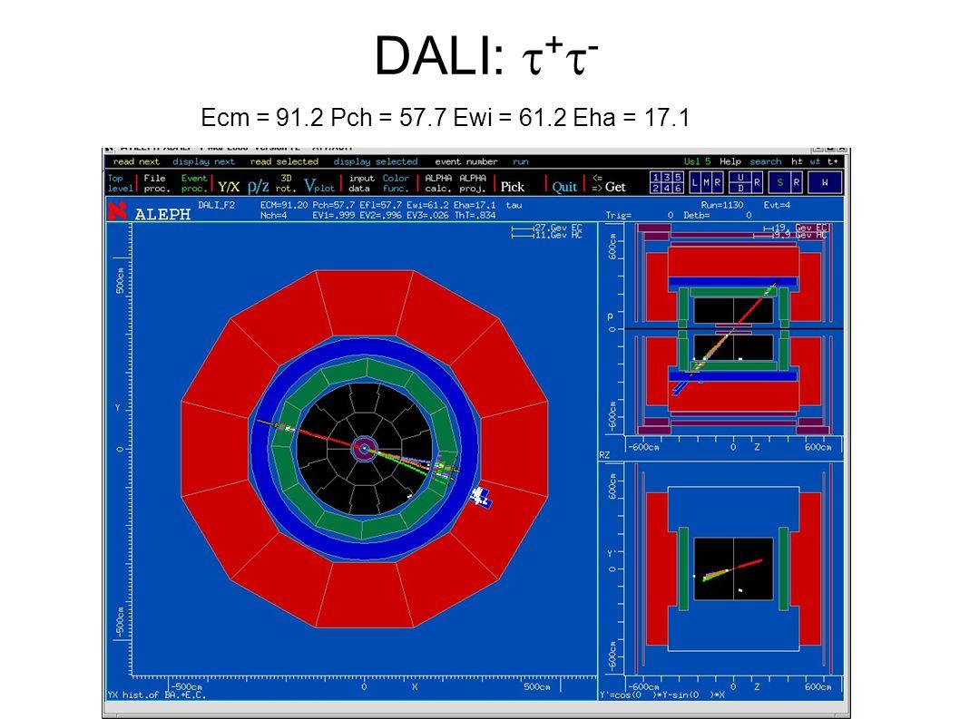 DALI: + - Ecm = 91.2 Pch = 57.7 Ewi = 61.2 Eha = 17.1
