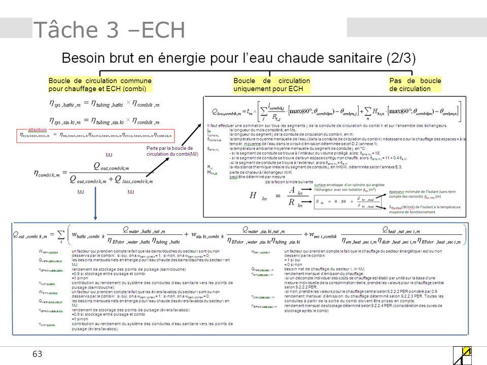 63 Tâche 3 –ECH