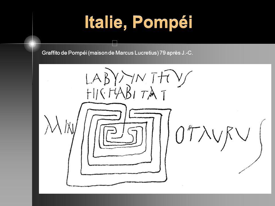 Italie, Pompéi Graffito de Pompéi (maison de Marcus Lucretius) 79 après J.-C.