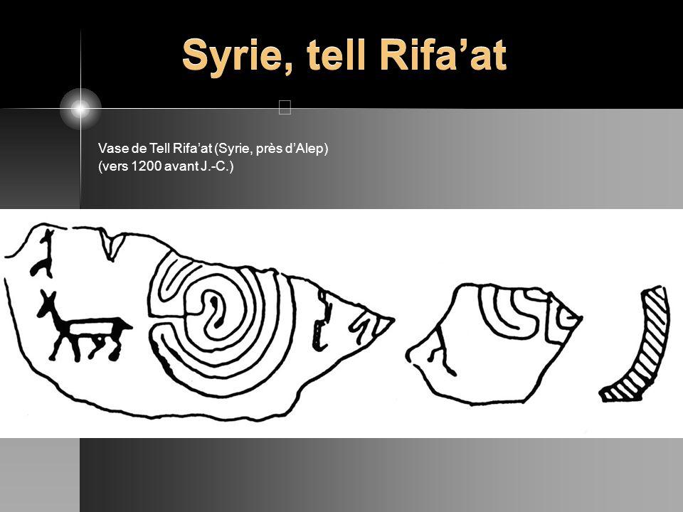 Syrie, tell Rifaat Vase de Tell Rifaat (Syrie, près dAlep) (vers 1200 avant J.-C.)