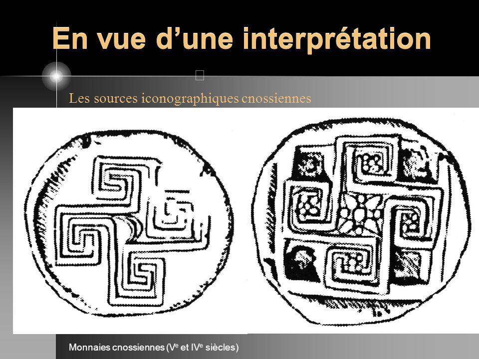 En vue dune interprétation Les sources iconographiques cnossiennes Monnaies cnossiennes (V e et IV e siècles)